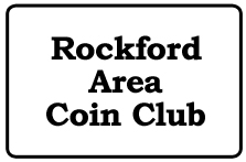 Rockford Coin Club Logo
